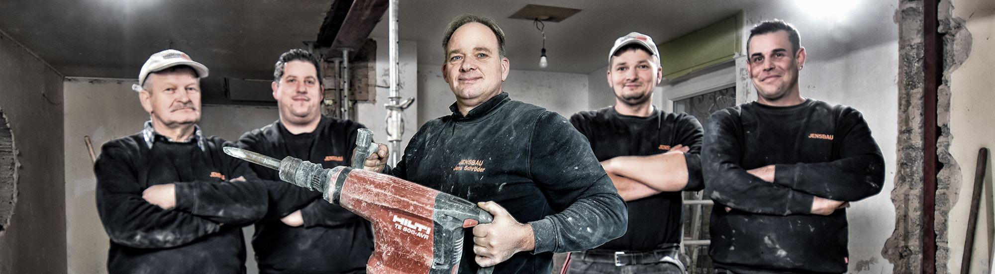 JensBau - Bauunternehmen aus Karlsruhe und Ettlingen